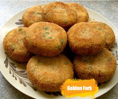 Fish Cutlets from Golden Fork
