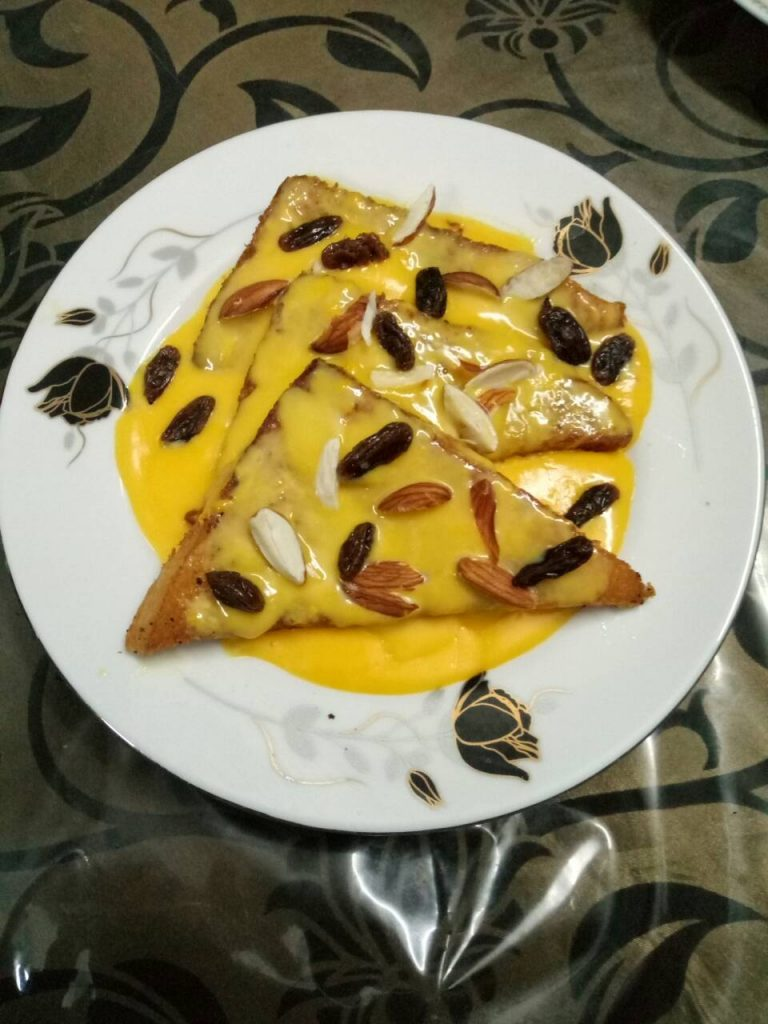 Shahi Tukra from Homemade Food Factory