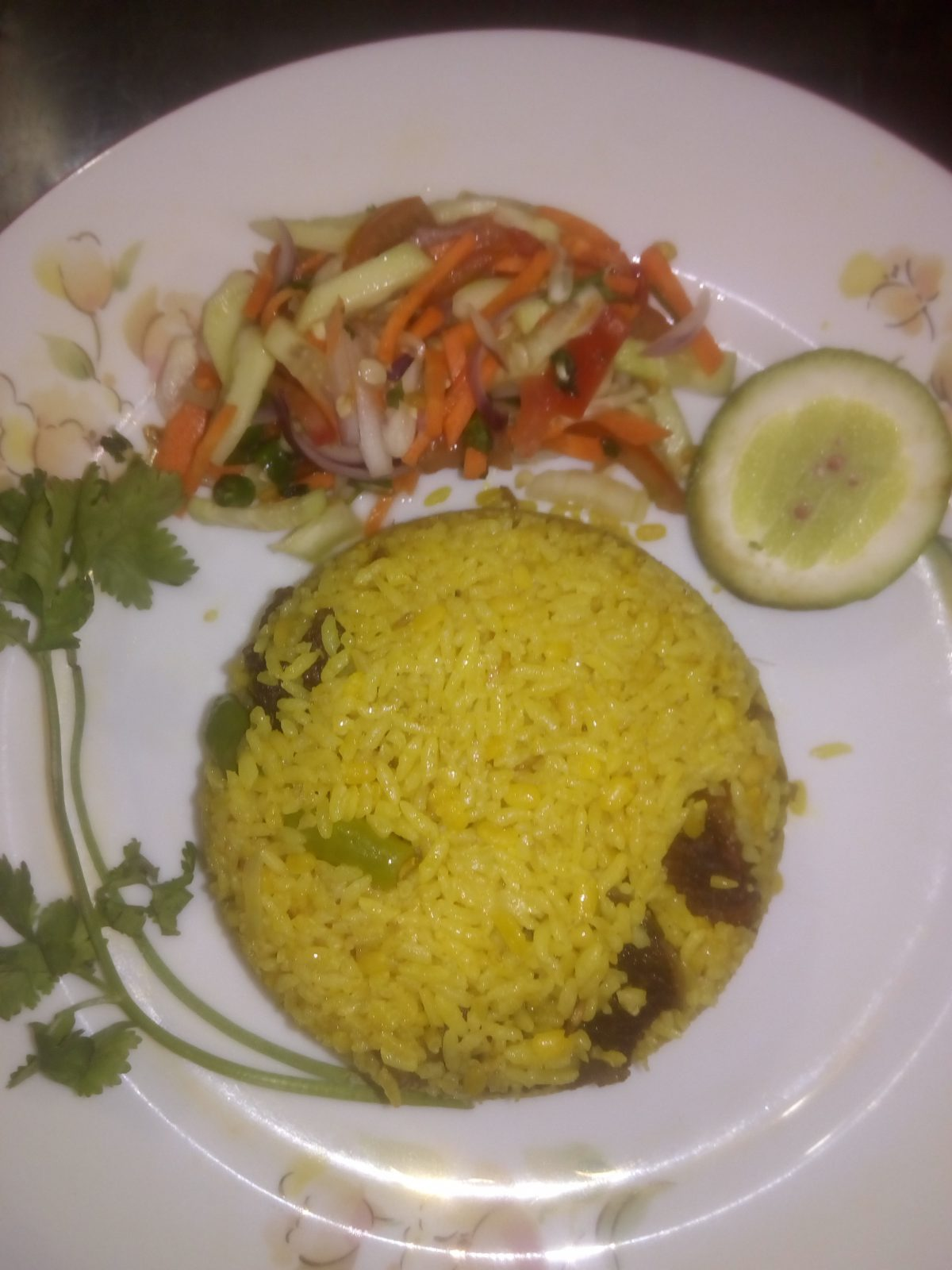 Beef Khichuri from Ayesha's Kitchen