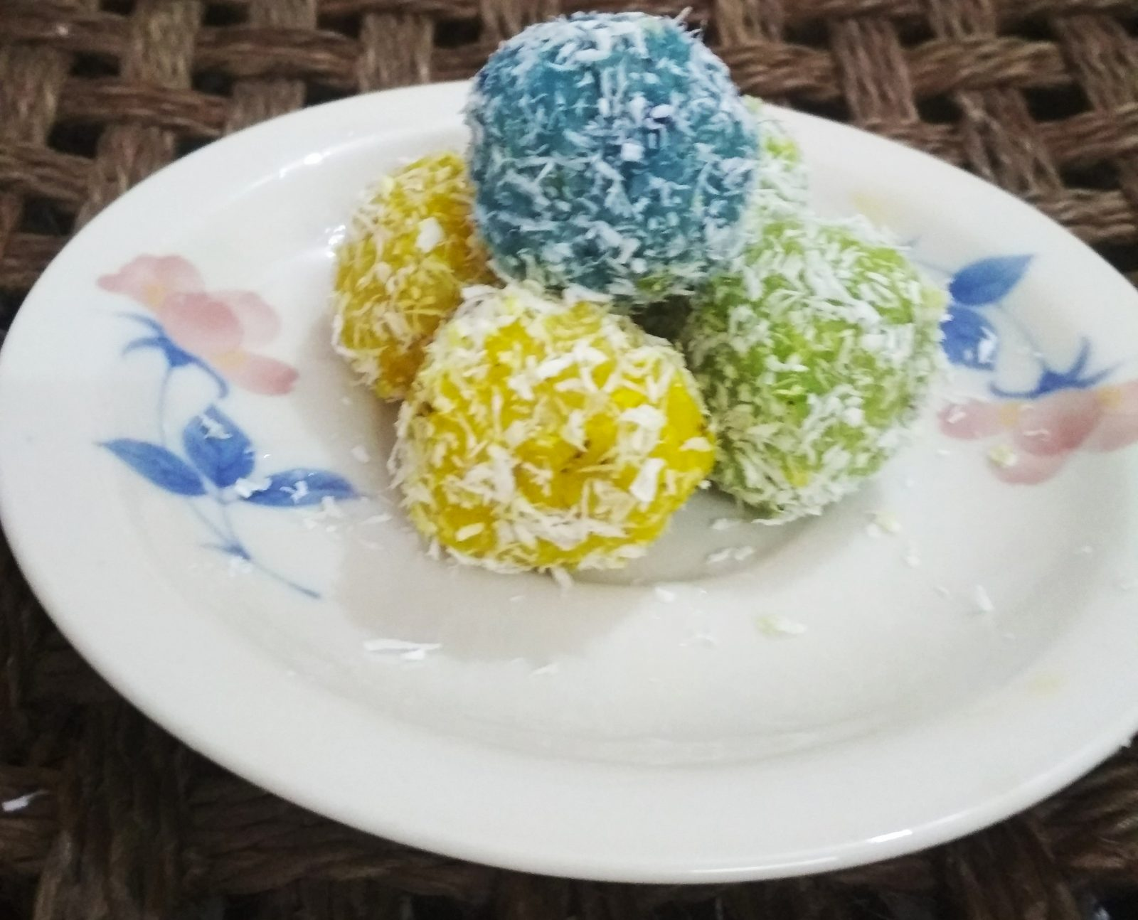Rainbow Coconut Ball from Three Star Kitchen