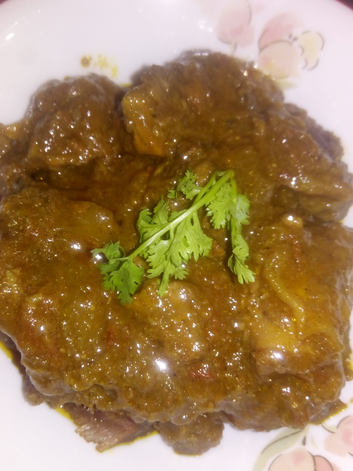 Beef Vuna from Ayesha's Kitchen