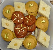 Combo Box - Halwa Set - 5 Types from Arisha's Kitchen