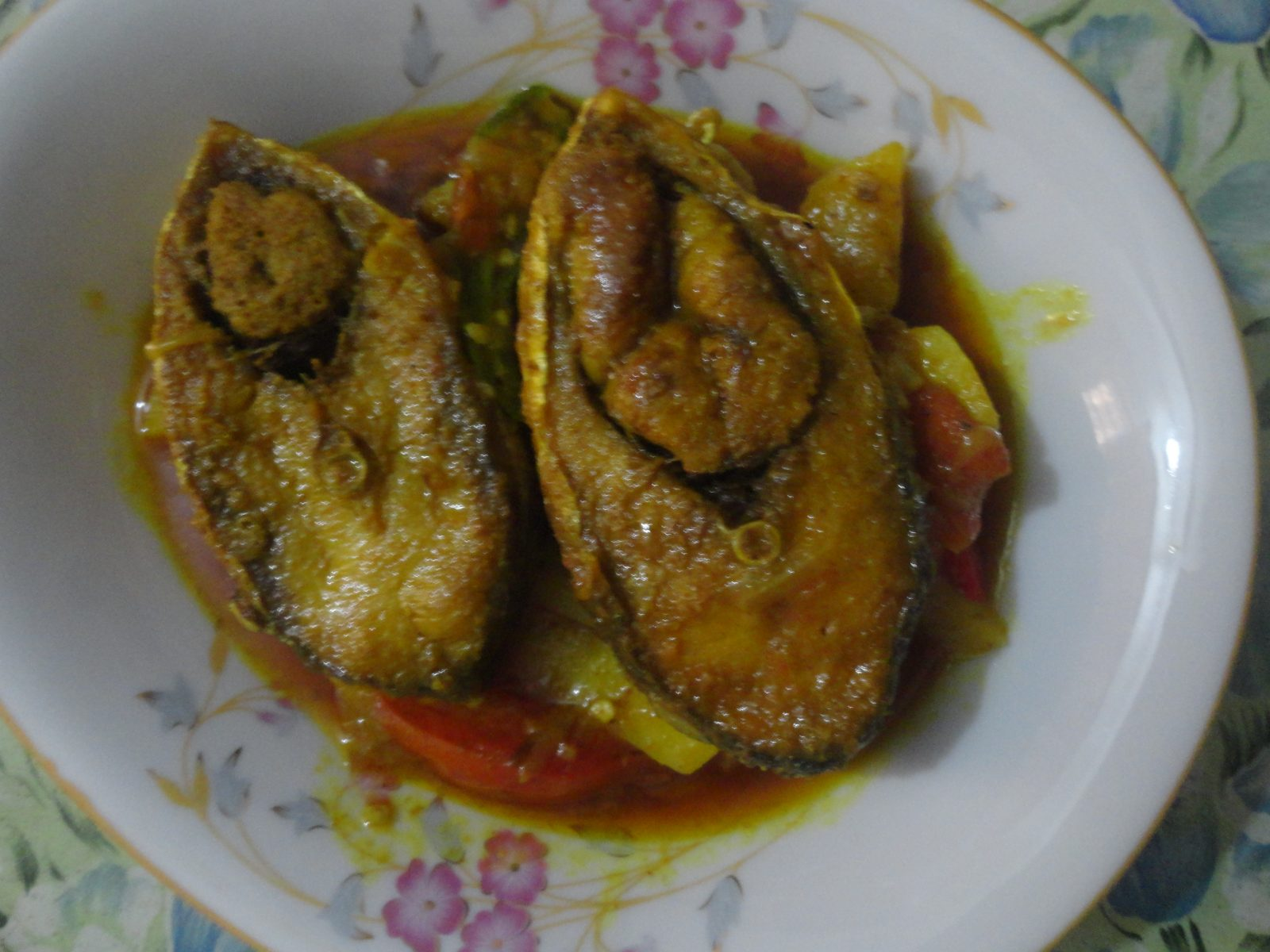 Ilish torkari from Mom's Dine