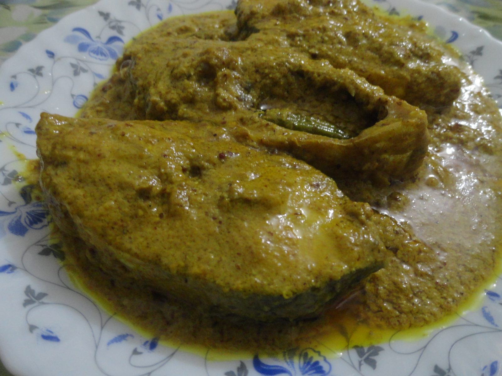 Shorshe Ilish from Mom's Dine