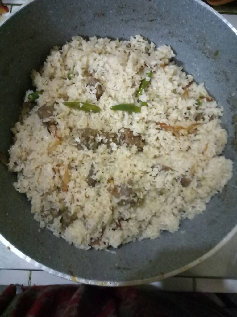 Beef Tehari from Homemade Food Factory