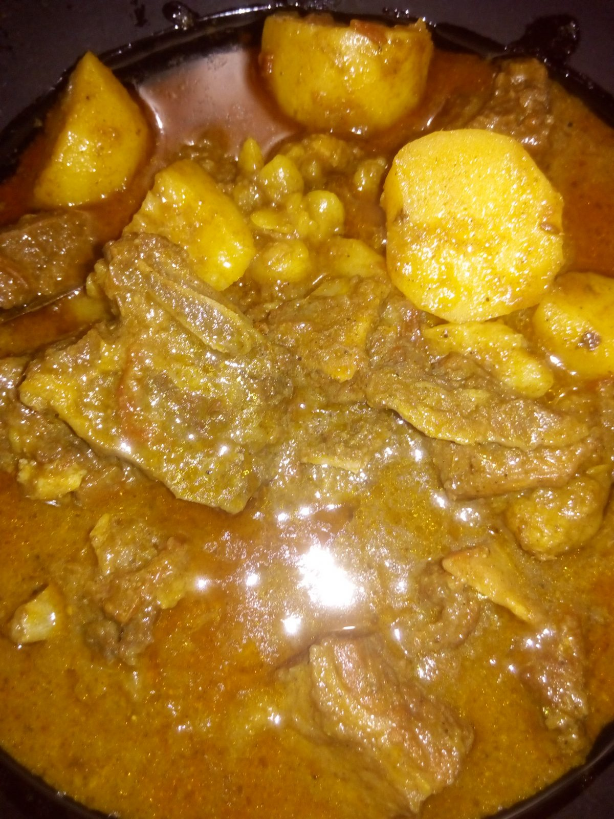 Beef Potato Curry from Ayesha's Kitchen