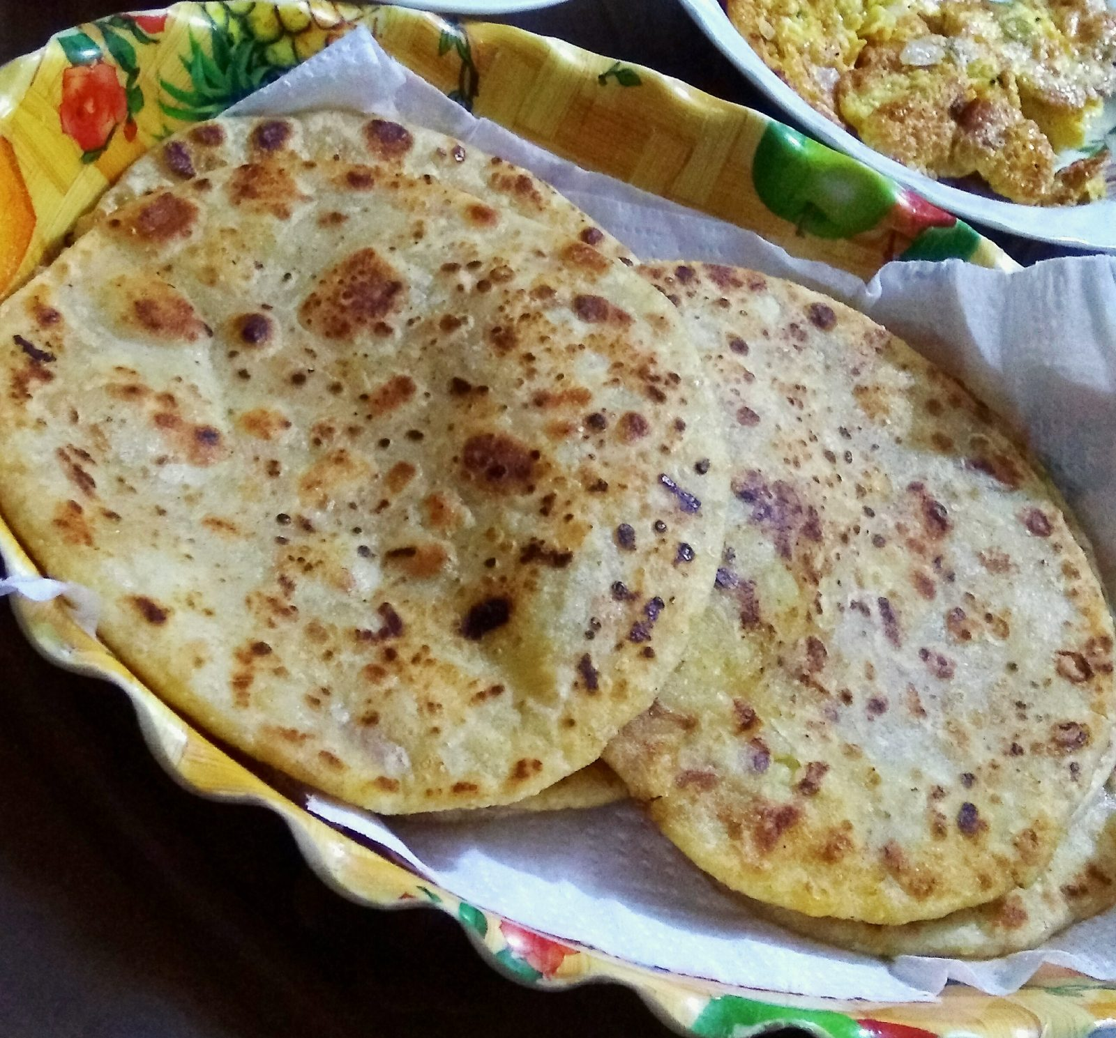 Aloo Paratha from Nuzhat's Dine
