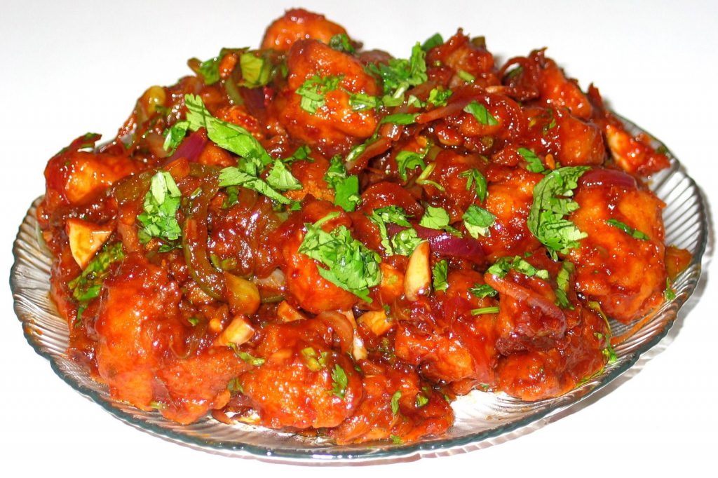 Chicken Manchurian from Homemade Food Factory