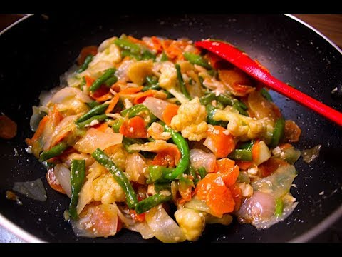 Chinese Mixed Vegetable Curry from Homemade Food Factory