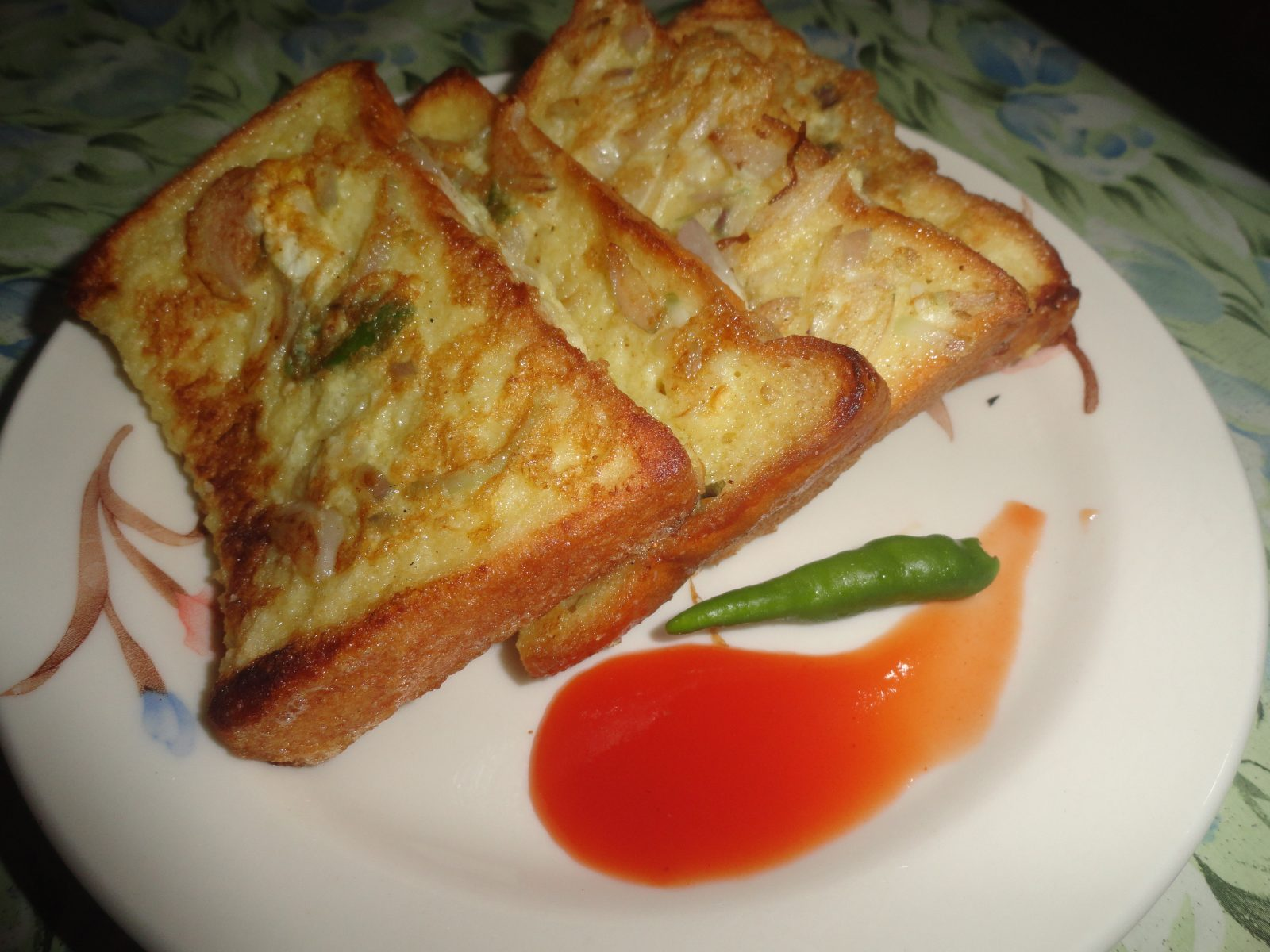 Bombay Toast (Jhal/Mishty) from Mom's Dine
