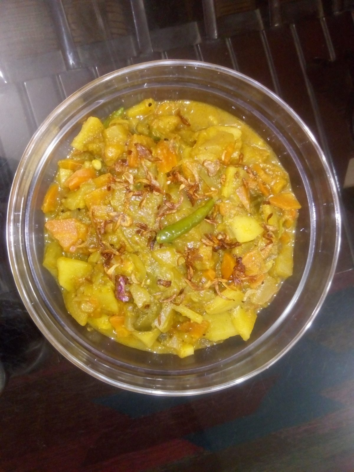 Mixed vegetable from Ayesha's Kitchen
