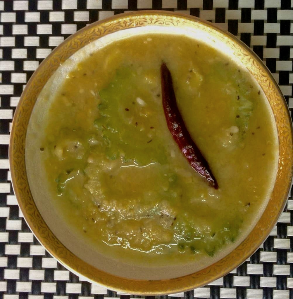 Motor Daal with Korolla
