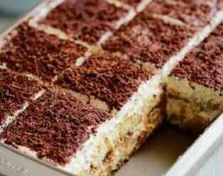Tiramisu from Ayesha's Kitchen