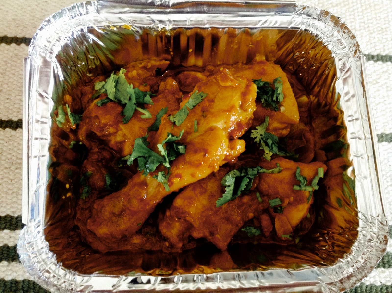 Red Chicken (Indian style) from Shelley's Kitchen