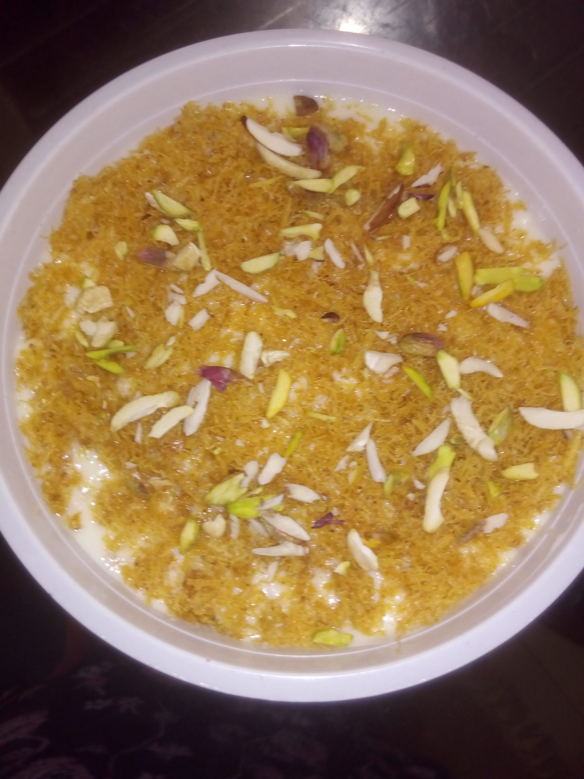 Nawabi Creamy Laccha Semai from Ayesha's Kitchen