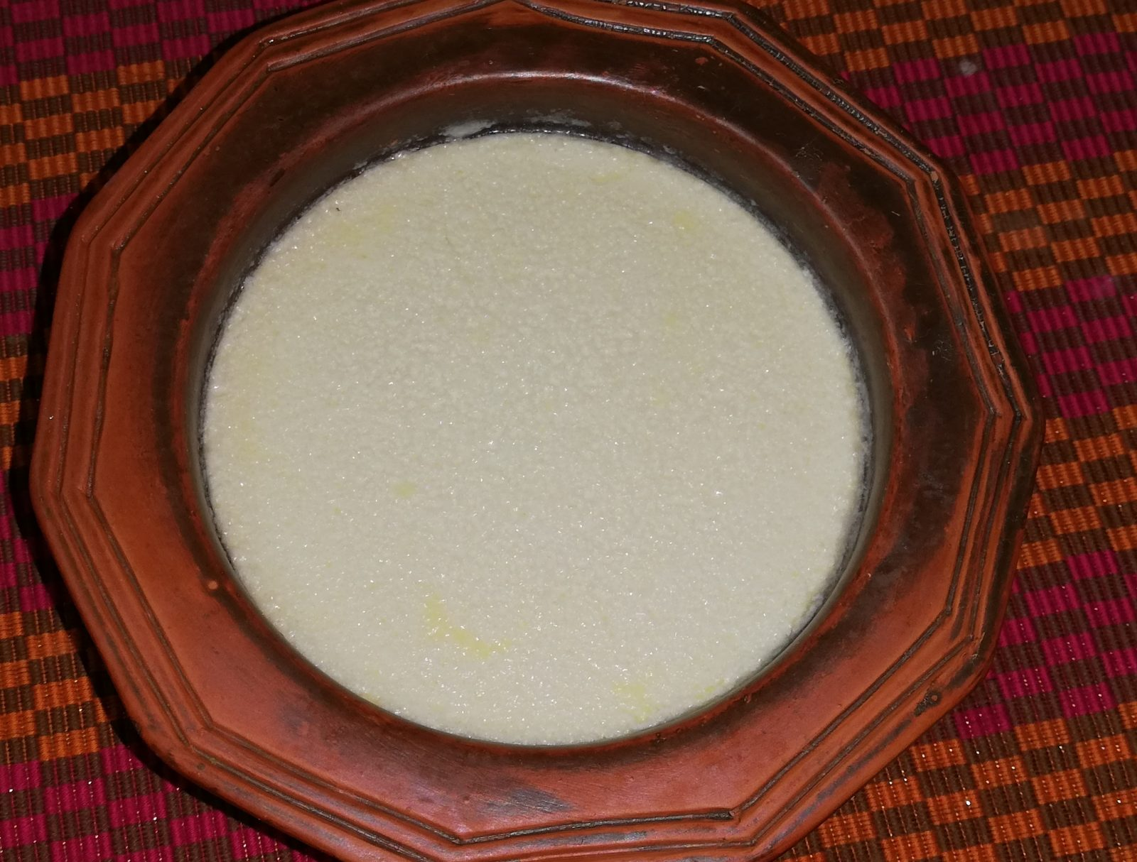 White sweet curd (less sweetened)