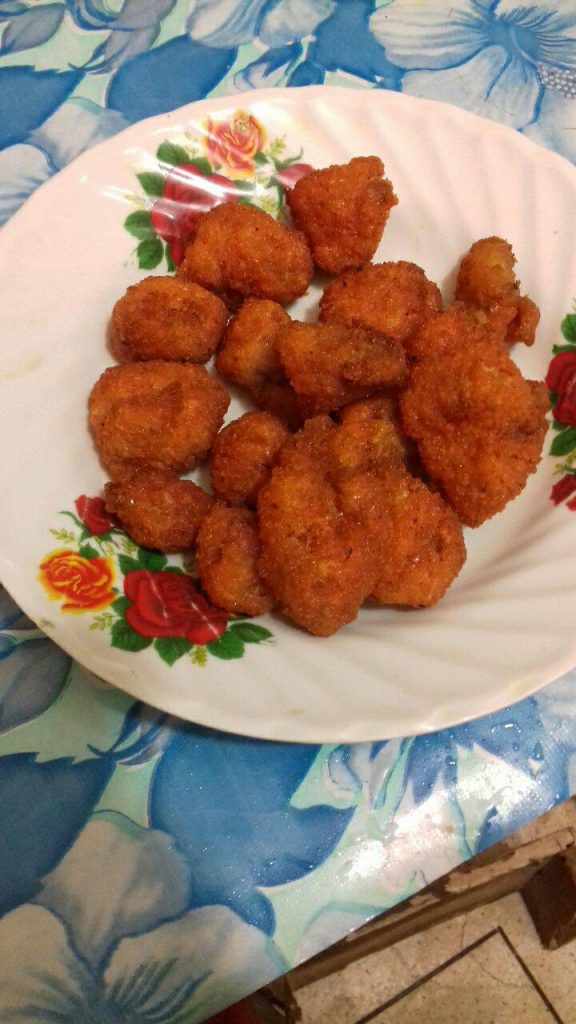 Chicken Popcorn from Juthemoni's Kitchen
