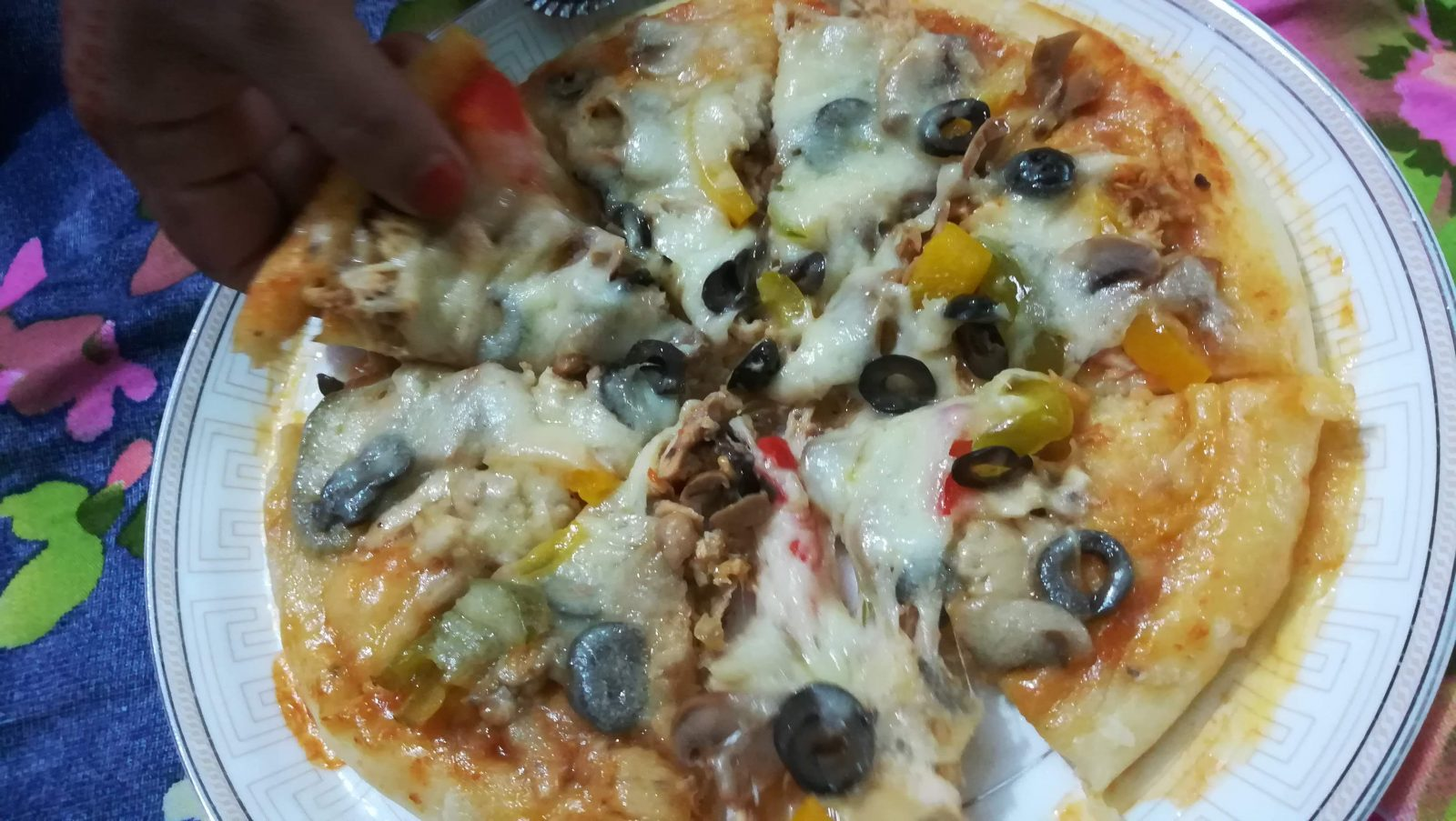 Pizza from Food Kitchen