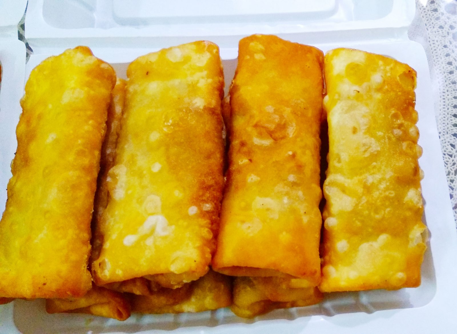 Vegetable Spring Roll from Nuzhat's Dine