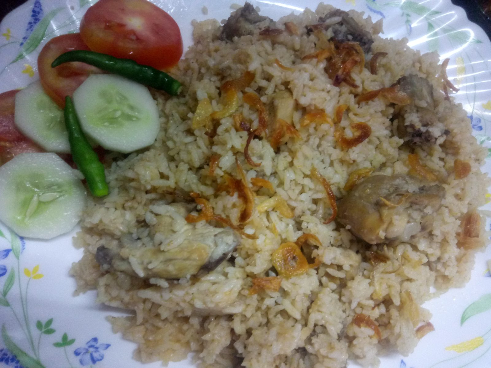 Chicken Tehari from Mohima's Kitchen