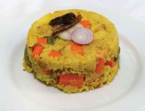 Vegetable Khichuri, Egg Vuna and Vorta from Nahaz's Kitchen