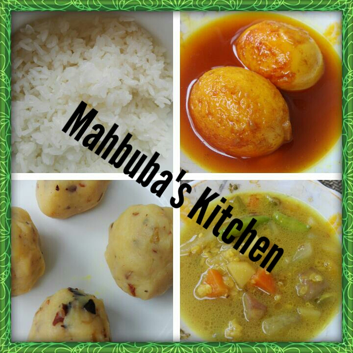 Set Menu for Lunch/Dinner-1 from Mahbuba's Kitchen