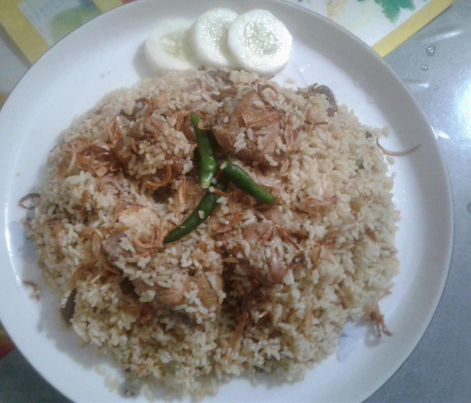 Chicken Biriyani from Sadia's Kitchen
