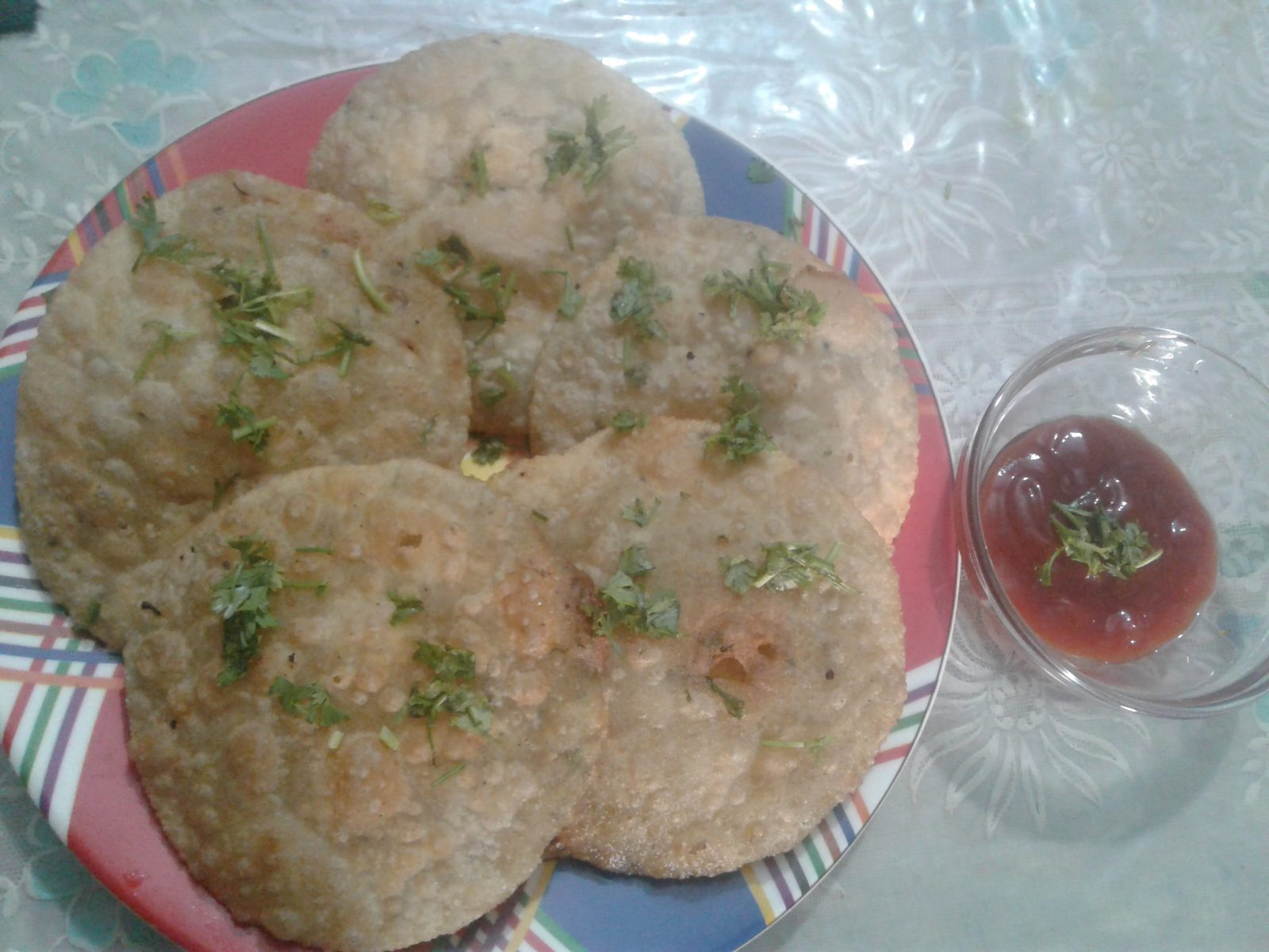 Dal Puri from Sadia's Kitchen