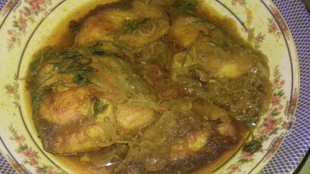 Rui Fish Vuna from Juthemoni's Kitchen