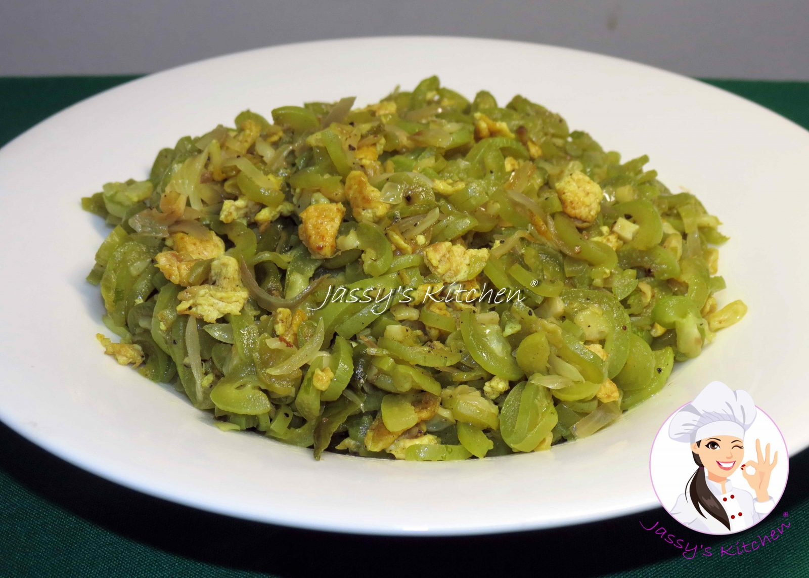 Chichinga Vaji with Egg from Jassy's Kitchen