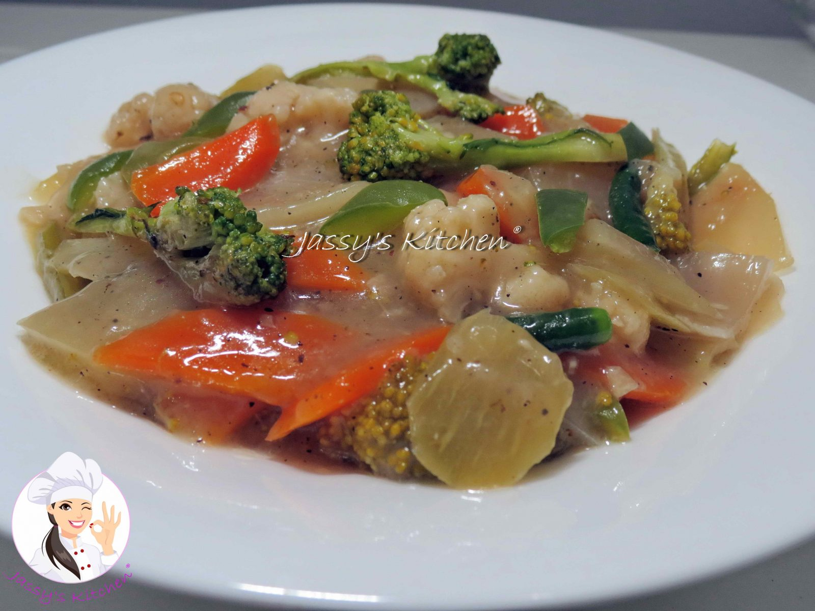 Chinese Vegetable With Chicken from Jassy's Kitchen