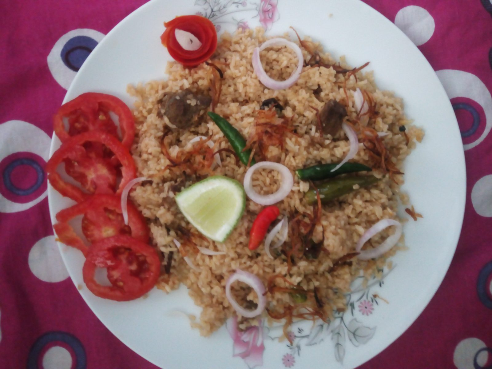 Special Beef Mixed Biryani from Naher Kitchen