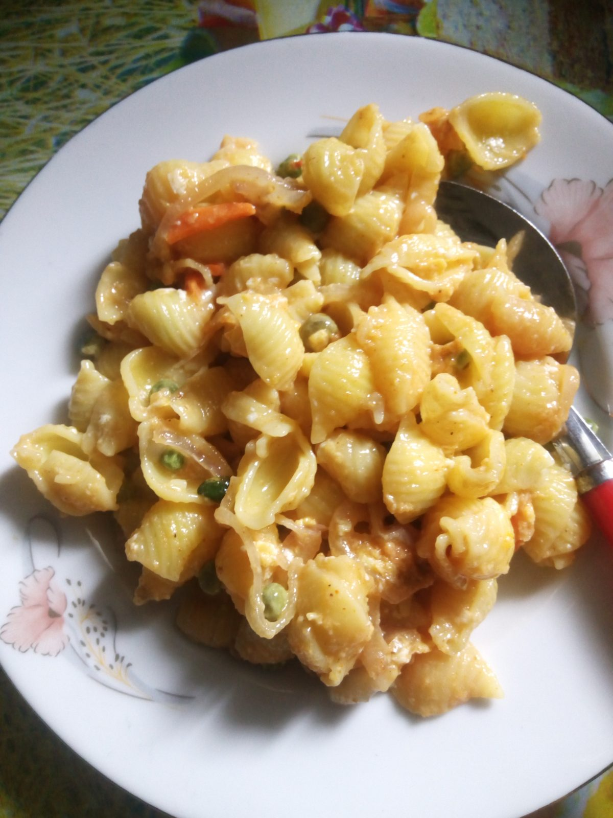 Egg Masala Pasta from Naher Kitchen