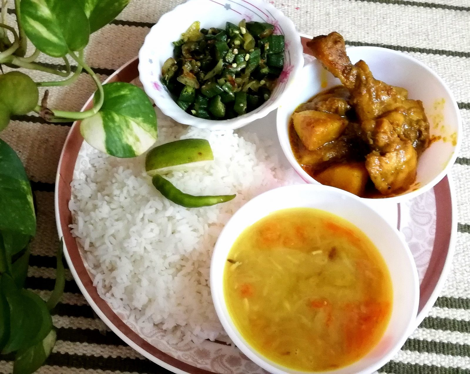 Chicken+Vaji+Vaat+Daal from Shelley's Kitchen
