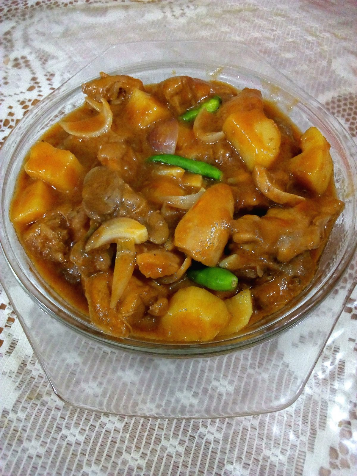 Onion Chicken from Roshona Bilash