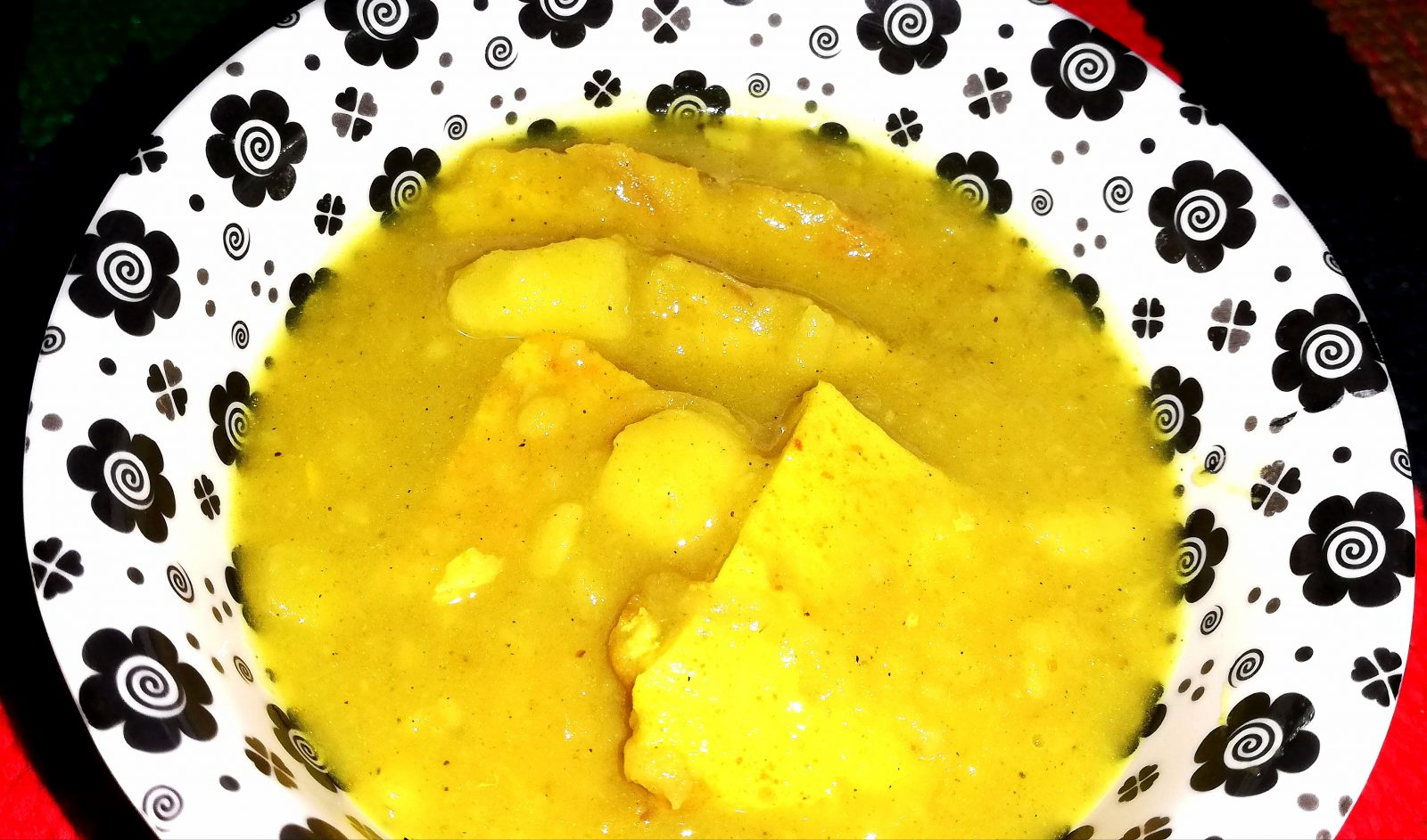 Dim aloor daal+potol vaza+vaat from Shelley's Kitchen