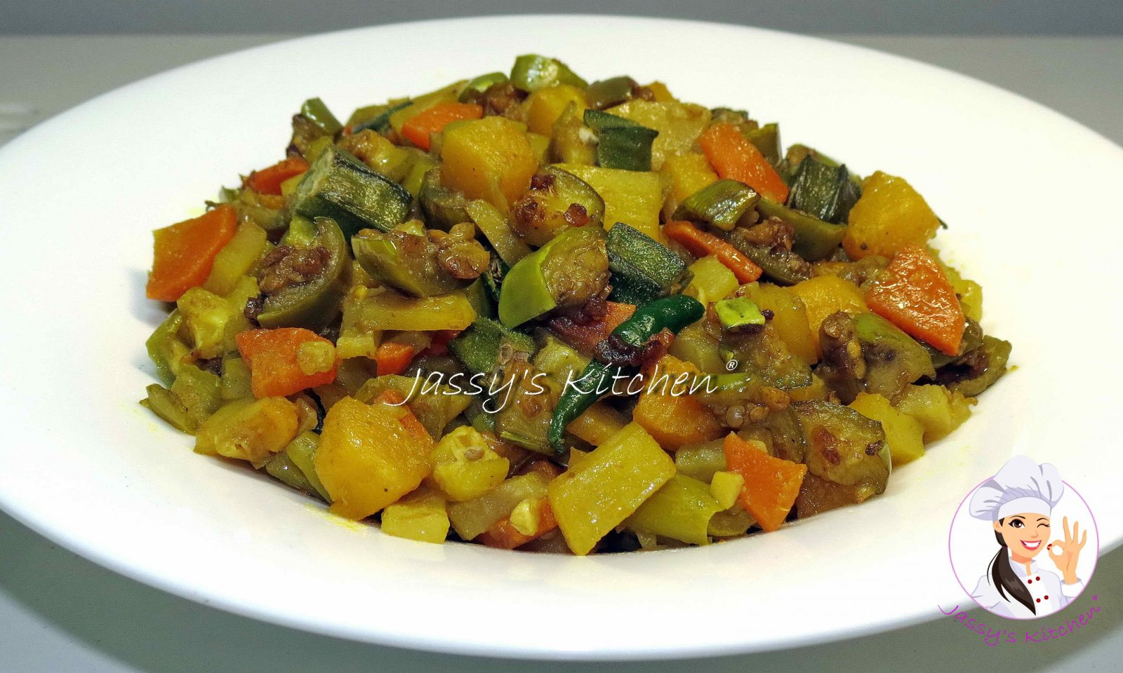 Mixed Vegetable Vaji from Jassy's Kitchen