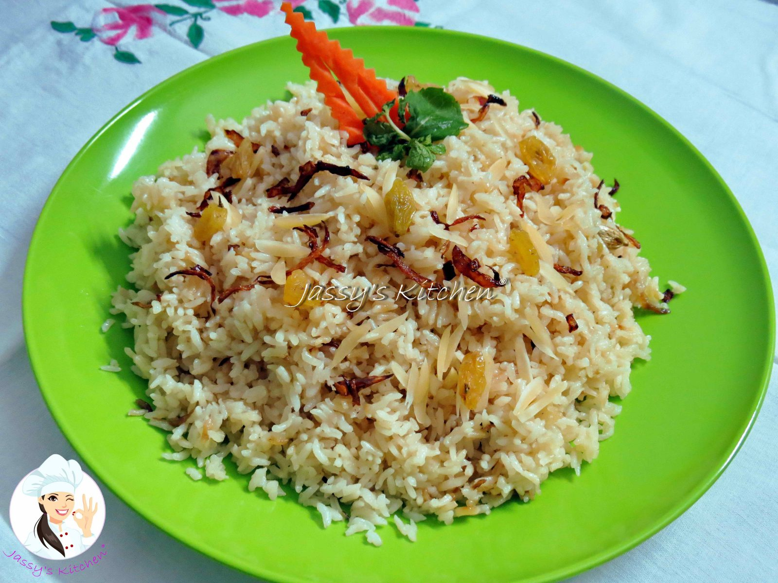 Shahi Pulao from Jassy's Kitchen