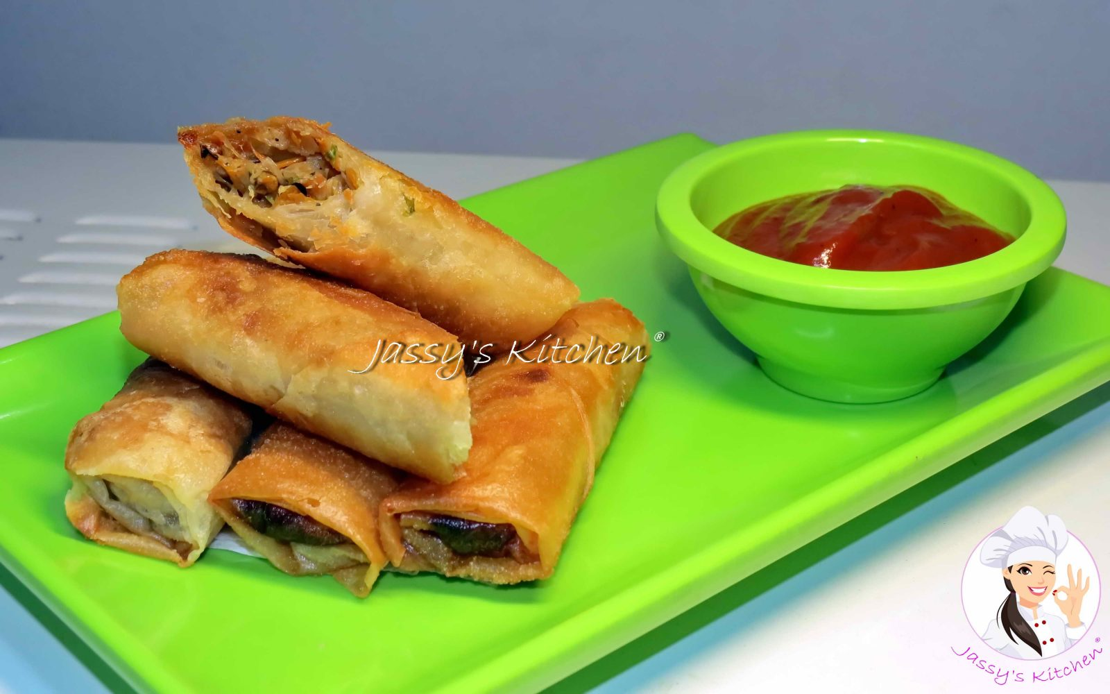 Vegetable Spring Roll from Jassy's Kitchen
