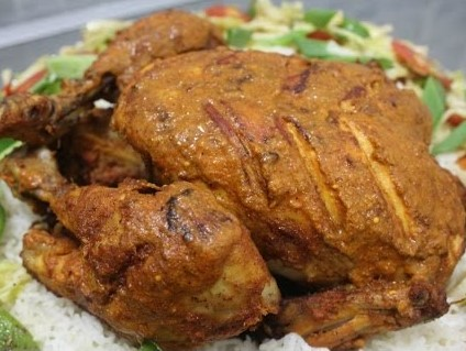 Full Chicken Roast from Ghorer Khabar