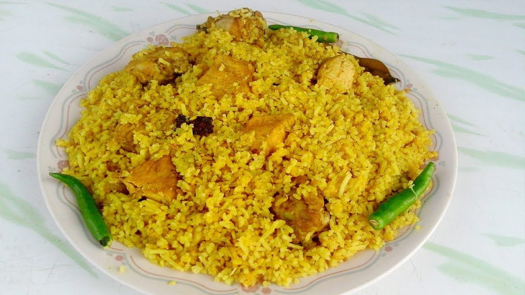 Chicken Khichuri from Ghorer Khabar
