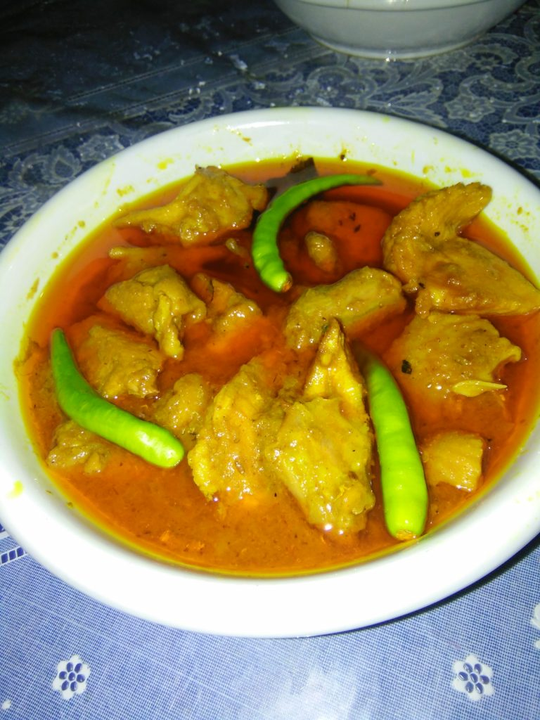 Chicken Curry from Dolly's Kitchen