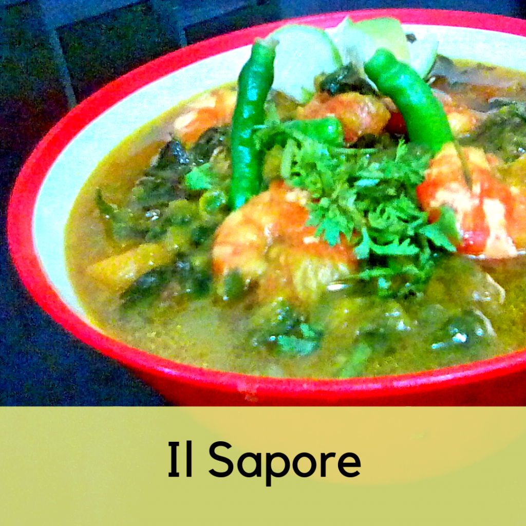 Prawn with Pui Shagh and Pumpkin Curry from Il Sapore