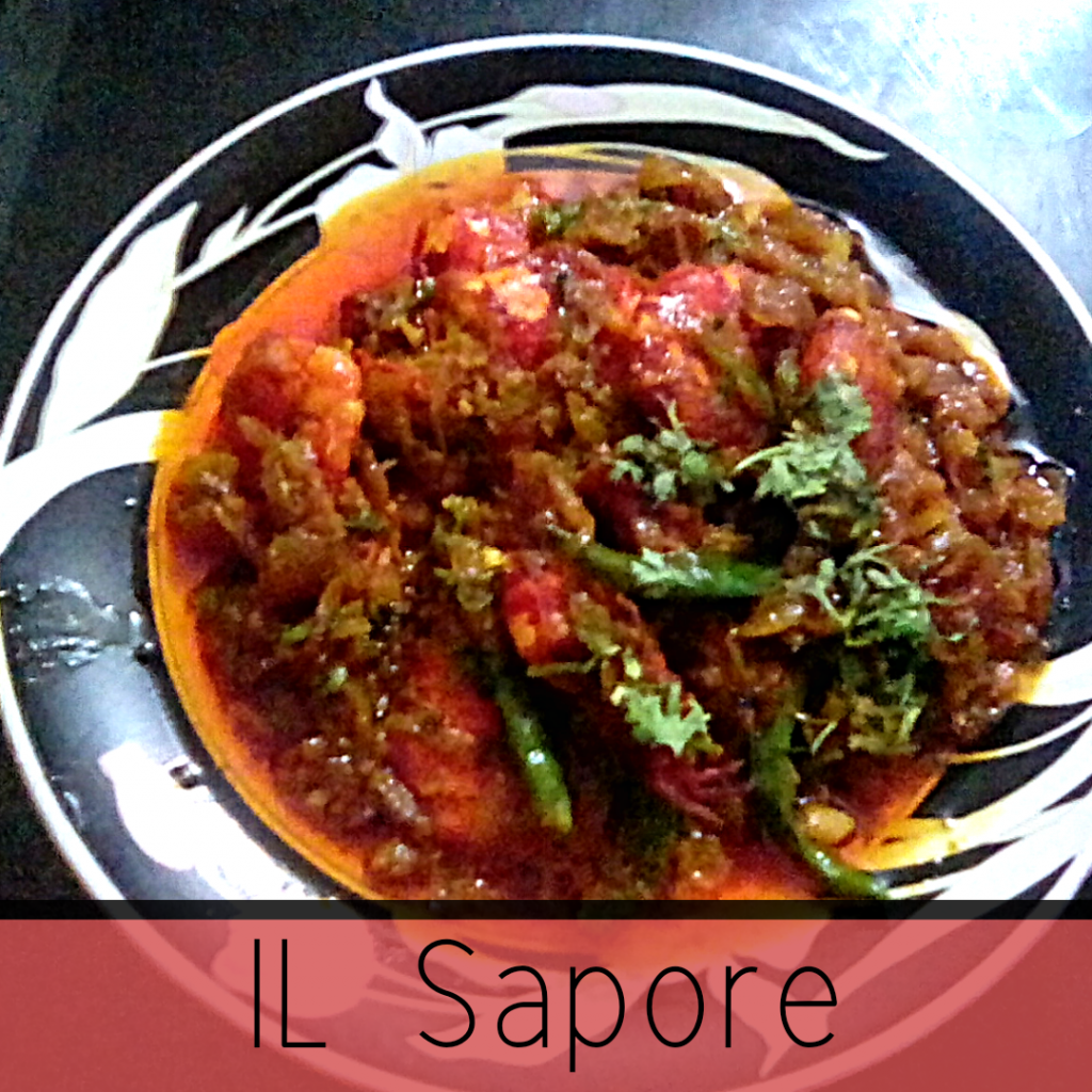 Hot Prawn Masala ( Jhal Chingri Curry) from Il Sapore