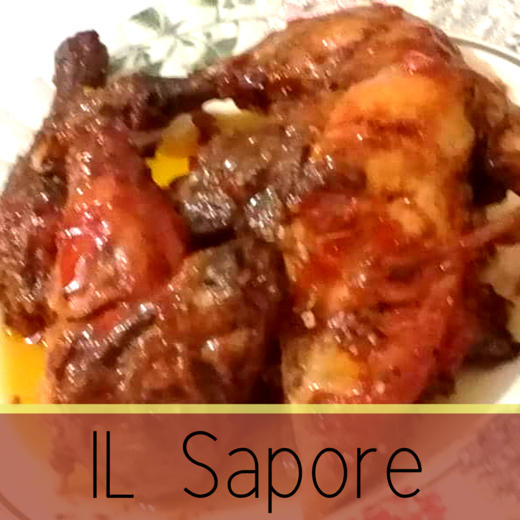 Honey Glazed Grilled Chicken from Il Sapore