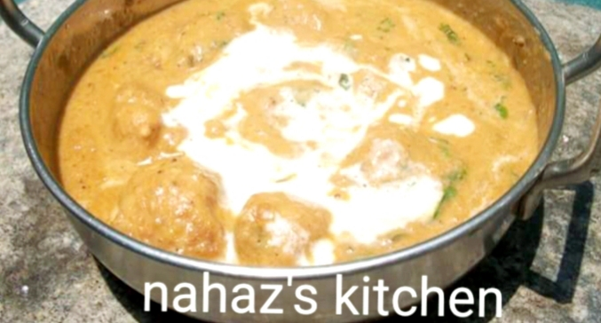 Chicken Kofta Curry from Nahaz's Kitchen