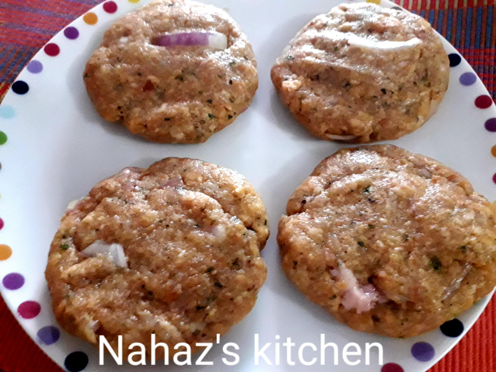 Frozen Chicken Burger Patty from Nahaz's Kitchen