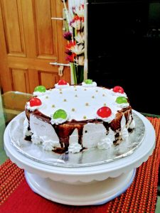 White Forest Cake (1.5 pound) from Haque Kitchen