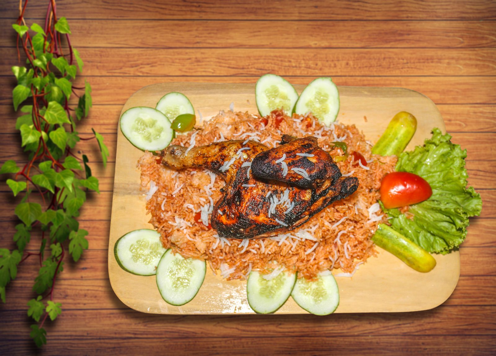 Arabian Chicken Kabsa from Taco's Kitchen