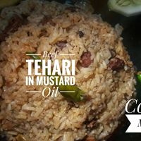 Beef Tehari in Mustard Oil